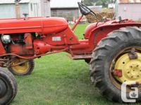 I have a Alice Chandler D 12 Tractor, 3 point hitch,
