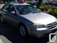 Make Nissan Model Maxima Year 2002 Colour Grey kms