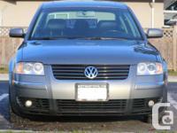 2003 Volkswagen Passat 4Motion (a rare model), no
