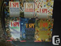 """I have the following """"I Spy"""" books. $8 each: * I Spy *"""