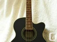 Ibanez AEB8E -BK Acoustic Bass Guitar  Color- Black for sale  British Columbia