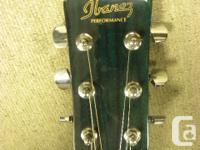 Ibanez Performance series cutaway acoustic / electric for sale  British Columbia