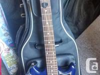 A rarely used electric guitar, still in great
