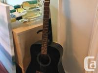 In beautiful condition, an Ibanez guitar purchased and