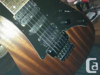 Nearly new Ibanez RG series mahogany body guitar.2 for sale  British Columbia