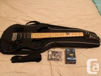I'm selling an Ibanez RG170.  I bought it early spring