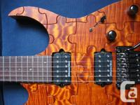 Ibanez RG 20064 Prestige Puzzle Limited Edition! Quilt for sale  Quebec
