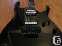 I have an Ibanez RGD320Z for sale. The pickups have