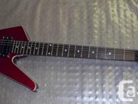 Ibanez Mini Destroyer. Has some fracturing under tone for sale  British Columbia