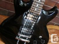 IBENEZ BLACK BEAUTY ELECTRIC GUITAR- EXCELLENT