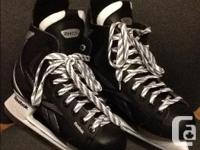 These skates were acquired last Christmas as well as we
