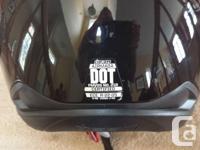 Icon Airmada motorcycle helmet in excellent condition.