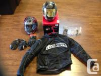 Complete set of his n hers riding gear. Jacket, girls