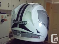 For Sale: Icon bike helmet. Size large. Great shape.