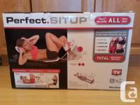 Perfect Situp AB Exercise Device New in Box. Makes for