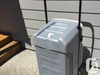 We have a 16'w x 16'd x 30' long cooler ideal for