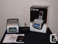 iHome iH11 player for iPod: wake, sleep and charge your