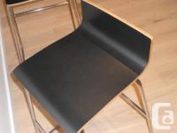"Ikea ""Sebastian"" bar stools Excellent condition No"