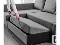 Ikea Friheten Sofabed (dark grey)