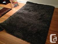 * Excellent condition, very comfortable high pile rug *