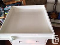 This is a great 2 drawer dresser with quick access