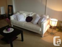I am selling a karlstad sofa bought in June. It is in