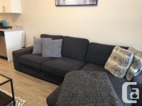 Used, IKEA KIVIK SOFA - Soft fabric sofa with chaise - for sale  British Columbia