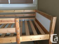 I bought this Ikea loft bed about 5 years ago and it is