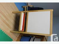 Ikea Mala Easel. Like new. Comes with most of a roll of