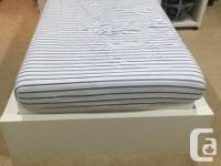 Excellent condition. Selling in Ikea for $194. Mattress