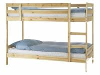 Selling an Ikea Mydal Bunk Bed because I'm moving. Like