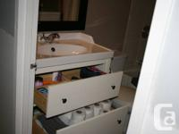 HEMNES/ RATTVIKEN Sink cabinet with 2 drawers combo