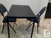 "Condition NEW, Ikea Table (W=2'2"",L=3'8"",H=2'5""), with"