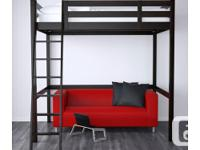 Previously I have the Loft Bed in the bed room as extra