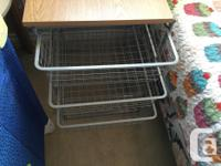 This is a very unique IKEA Metal open style