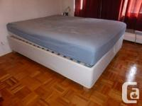 IKEA SULTAN ALSARP - bed mattress base with storage