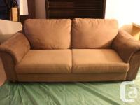 MOVING SALE. Grey/brown Tidafors Ikea sofa. The high