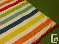 Comforter and cover in great shape. Cover removable for