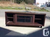 Ikea purchase, sliding glass door tv stand. Measures