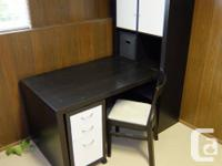 Available for sale is an IKEA office collection -
