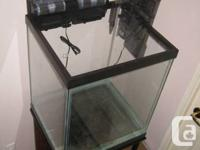 37 Gallon aquarium with stand for sale only tank
