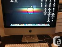 Imac 20inch Intel Cpu 500GB WIFI Logic & Final Cut Pro