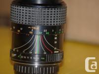 Image brand 'A' series zoom lens, when locked in