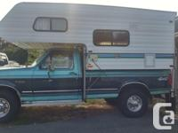 1996 8 foot Adventurer by Slumber Queen. Excellent