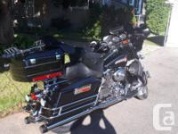 Make Harley Davidson Model Electra Glide Year 2005 kms
