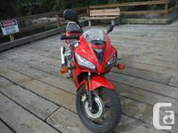 Make Honda Model Cbr Year 2008 kms 3858 Original owner,