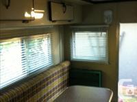 Older import size okanagan camper in good shape. It has