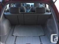 Make Pontiac Model Vibe Year 2004 Colour Red kms 89300