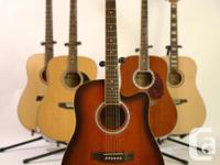 Available now is our iMusic39 acoustic guitar, a lovely