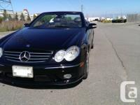 2005 MERCEDES CLK 55 AMG CONVERTIBLE !!  On sale is a